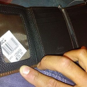 Genuine Leather Justin Boots Wallet Brand New